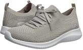 Skechers Ultra Flex - Statements (Black/Grey) Women's Shoes