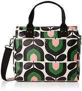 Orla Kiely Women's Zip Messenger Messenger Bag