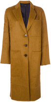 Joseph long single breasted coat