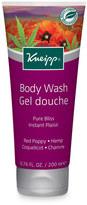 Kneipp Red Poppy + Hemp Pure Bliss Body Wash by 6.8oz Shower Gel)