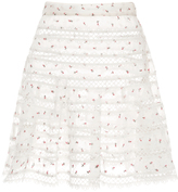 Zimmermann Mischief Rosebud Printed Mini Skirt