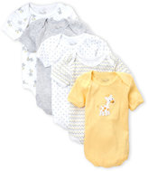 Rene Rofe Infant Boys) 5-Pack Giraffe Bodysuit