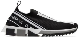 Dolce & Gabbana Black Sorrento Sneakers