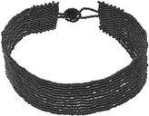 Apt. 9 Black Seed Bead Multi Strand Choker Necklace