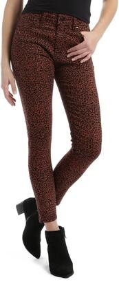 Mavi Jeans Tess High Waist Ankle Super Skinny Jeans