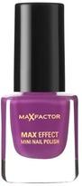 Max Factor Max Effect Nail Polish Diva Violet 8