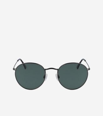 Cole Haan Classic Metal Round Sunglasses