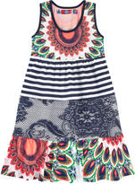 Desigual Printed organic cotton dress