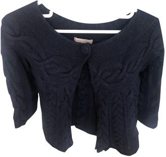 Sandro Fall Winter 2018 Navy Wool Knitwear