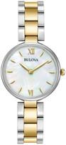Bulova Women's Dress Gold Bracelet Watch
