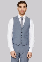 Ted Baker Tailored Fit Light Blue Waistcoat