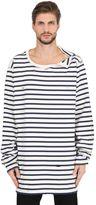 Faith Connexion Oversized Striped Cotton Jersey T-Shirt