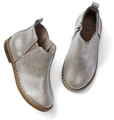 Gap Metallic chelsea booties