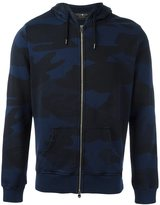 Hydrogen camouflage zip up hoodie