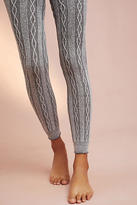 Anthropologie Orchard Cabled Leggings