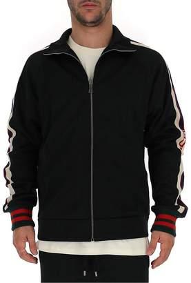 Gucci Web Trimmed Track Jacket