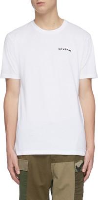 Denham Jeans 'Aim high' bird print back T-shirt