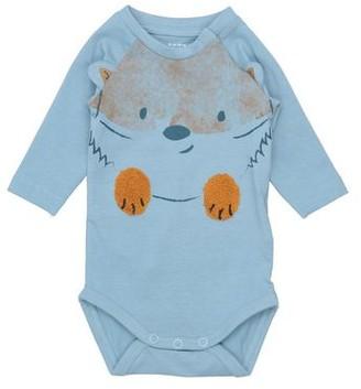 NAME IT Baby-M/ädchen Schlafstrampler NBFNIGHTSUIT 2P W//F NOOS
