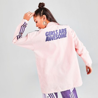 adidas Women's Girls Are Awesome Coaches Jacket