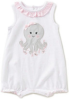 Starting Out Baby Girls Newborn-9 Months Ballerina Octopus Shortall