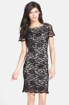 Alexia Admor Women's Caviar Beaded Lace Sheath Dress