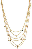 Kenneth Cole New York Black Diamond Multi-Row Layered Necklace