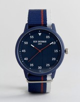 Ben Sherman Wb076u Navy Nato Watch