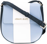 Armani Jeans striped crossbody bag