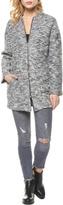 Dex Plush Bomber Coat