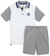 Armani Junior Armani Boys' Polo Shirt & Sweatshorts Set - Sizes 4-8