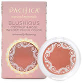 Pacifica Blushious Coconut Rose Infused Cheek Color - Wildrose by .10oz Compact)