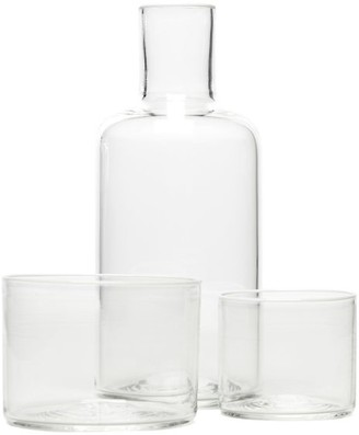 clear Yali Glass - Cristallo Carafe And Tumblers Set