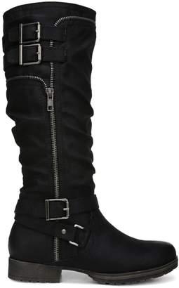 Fergalicious Hazard Buckled Knee-High Boots