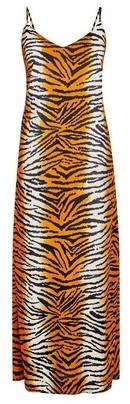 Dorothy Perkins Womens Tall Tiger Print Slip Dress