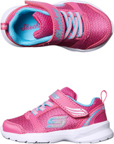 Skechers Tots Girls Sketch Stepz Shoe Pink