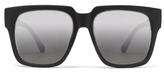 Quay On The Prowl Sunglasses in Black/Silver Mirror