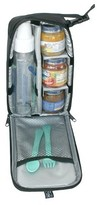 J L Childress Pack 'N Protect Tote for Glass Bottles and Jars, Black