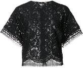 ADAM by Adam Lippes cropped lace T-shirt