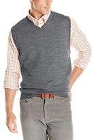 Cutter & Buck Men's Douglas V-Neck Vest