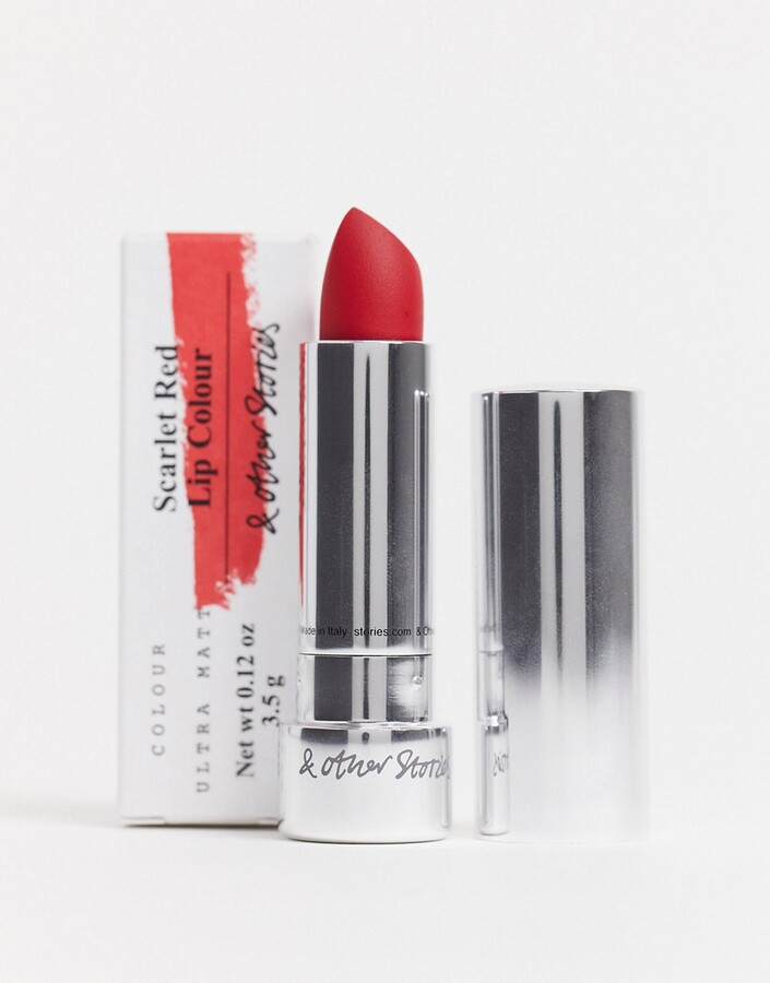 Thumbnail for your product : And other stories & Deja Vu Mood matte lipstick in red