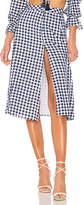 Majorelle x REVOLVE Emery Skirt in Blue. - size L (also in M,S,XL,XS,XXS)
