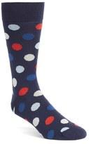 Bugatchi Men's 'Large Dot' Socks