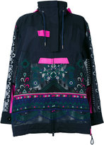 Sacai printed jacket - women - Cotton/Polyester - II