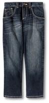 Wrangler Boys' Straight Leg Jean - Dark Rinse