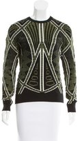 Torn By Ronny Kobo Textured Intarsia Sweater