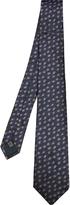 Lanvin Abstract polka-dot silk tie