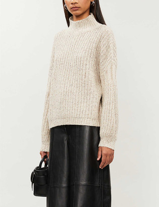 Whistles Turtleneck knitted jumper