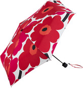 Marimekko Pieni Unikko Mini Manual Umbrella - White/Red