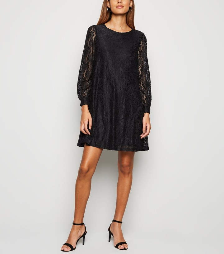 Thumbnail for your product : New Look Mela Lace Tunic Dress