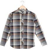 Fendi Boys' Plaid Button-Up Shirt
